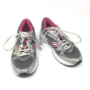 Saucony Running Sneaker Gray Pink 6.5